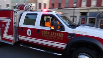 Apparatus Parade during Citz Fest, Citizens Fire Company, Mahanoy City, 8-21-2015 (206)