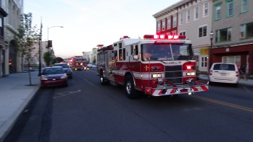 Apparatus Parade during Citz Fest, Citizens Fire Company, Mahanoy City, 8-21-2015 (207)