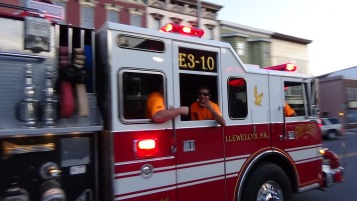 Apparatus Parade during Citz Fest, Citizens Fire Company, Mahanoy City, 8-21-2015 (209)