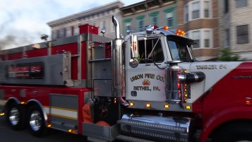 Apparatus Parade during Citz Fest, Citizens Fire Company, Mahanoy City, 8-21-2015 (211)