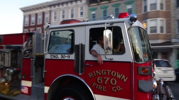 Apparatus Parade during Citz Fest, Citizens Fire Company, Mahanoy City, 8-21-2015 (213)