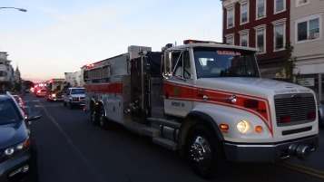Apparatus Parade during Citz Fest, Citizens Fire Company, Mahanoy City, 8-21-2015 (215)