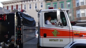 Apparatus Parade during Citz Fest, Citizens Fire Company, Mahanoy City, 8-21-2015 (216)