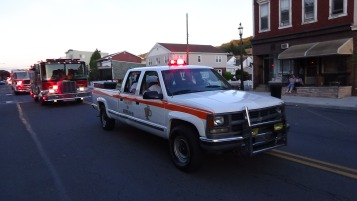 Apparatus Parade during Citz Fest, Citizens Fire Company, Mahanoy City, 8-21-2015 (217)