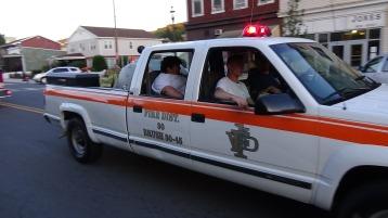 Apparatus Parade during Citz Fest, Citizens Fire Company, Mahanoy City, 8-21-2015 (218)