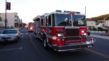 Apparatus Parade during Citz Fest, Citizens Fire Company, Mahanoy City, 8-21-2015 (222)