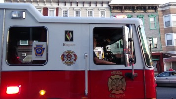 Apparatus Parade during Citz Fest, Citizens Fire Company, Mahanoy City, 8-21-2015 (223)