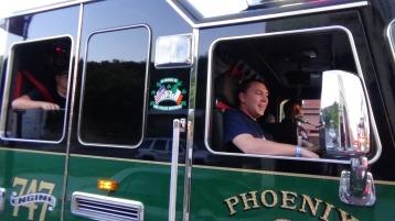 Apparatus Parade during Citz Fest, Citizens Fire Company, Mahanoy City, 8-21-2015 (226)