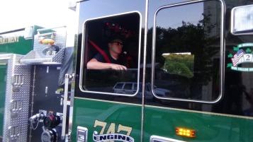 Apparatus Parade during Citz Fest, Citizens Fire Company, Mahanoy City, 8-21-2015 (227)