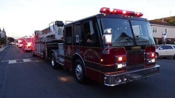 Apparatus Parade during Citz Fest, Citizens Fire Company, Mahanoy City, 8-21-2015 (228)