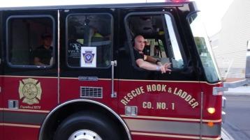 Apparatus Parade during Citz Fest, Citizens Fire Company, Mahanoy City, 8-21-2015 (230)