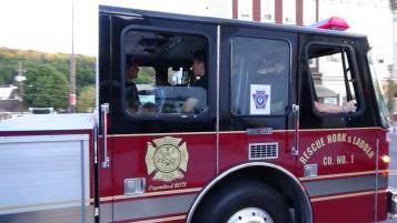 Apparatus Parade during Citz Fest, Citizens Fire Company, Mahanoy City, 8-21-2015 (231)