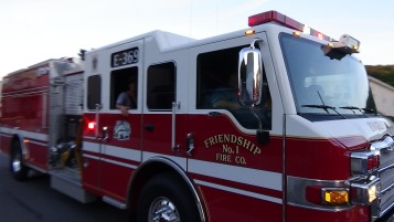 Apparatus Parade during Citz Fest, Citizens Fire Company, Mahanoy City, 8-21-2015 (233)