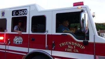 Apparatus Parade during Citz Fest, Citizens Fire Company, Mahanoy City, 8-21-2015 (234)