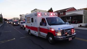 Apparatus Parade during Citz Fest, Citizens Fire Company, Mahanoy City, 8-21-2015 (236)