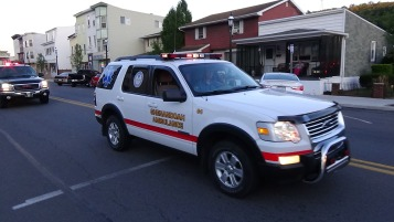 Apparatus Parade during Citz Fest, Citizens Fire Company, Mahanoy City, 8-21-2015 (239)