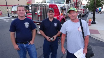 Apparatus Parade during Citz Fest, Citizens Fire Company, Mahanoy City, 8-21-2015 (257)