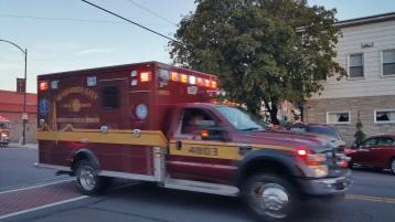 Apparatus Parade during Citz Fest, Citizens Fire Company, Mahanoy City, 8-21-2015 (27)
