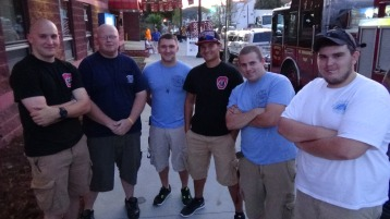 Apparatus Parade during Citz Fest, Citizens Fire Company, Mahanoy City, 8-21-2015 (295)
