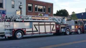 Apparatus Parade during Citz Fest, Citizens Fire Company, Mahanoy City, 8-21-2015 (3)