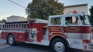 Apparatus Parade during Citz Fest, Citizens Fire Company, Mahanoy City, 8-21-2015 (30)