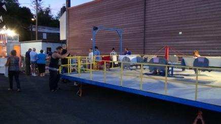 Apparatus Parade during Citz Fest, Citizens Fire Company, Mahanoy City, 8-21-2015 (305)