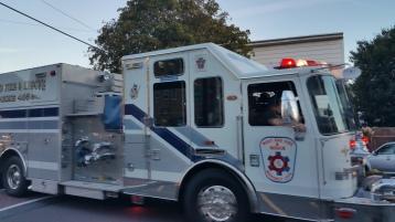 Apparatus Parade during Citz Fest, Citizens Fire Company, Mahanoy City, 8-21-2015 (31)