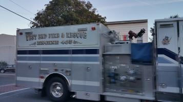 Apparatus Parade during Citz Fest, Citizens Fire Company, Mahanoy City, 8-21-2015 (32)
