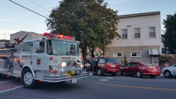 Apparatus Parade during Citz Fest, Citizens Fire Company, Mahanoy City, 8-21-2015 (33)