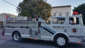 Apparatus Parade during Citz Fest, Citizens Fire Company, Mahanoy City, 8-21-2015 (34)