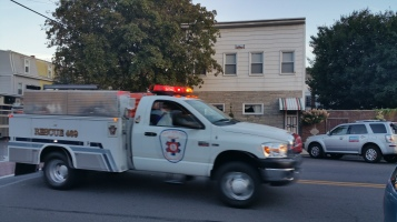 Apparatus Parade during Citz Fest, Citizens Fire Company, Mahanoy City, 8-21-2015 (36)