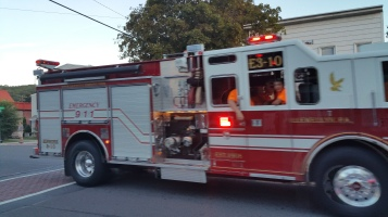 Apparatus Parade during Citz Fest, Citizens Fire Company, Mahanoy City, 8-21-2015 (42)