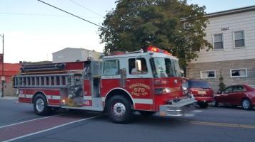 Apparatus Parade during Citz Fest, Citizens Fire Company, Mahanoy City, 8-21-2015 (44)