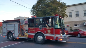 Apparatus Parade during Citz Fest, Citizens Fire Company, Mahanoy City, 8-21-2015 (47)