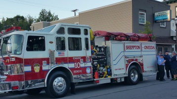 Apparatus Parade during Citz Fest, Citizens Fire Company, Mahanoy City, 8-21-2015 (5)