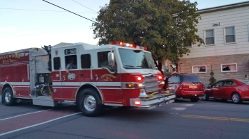 Apparatus Parade during Citz Fest, Citizens Fire Company, Mahanoy City, 8-21-2015 (52)
