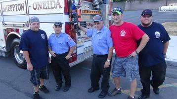 Apparatus Parade during Citz Fest, Citizens Fire Company, Mahanoy City, 8-21-2015 (56)