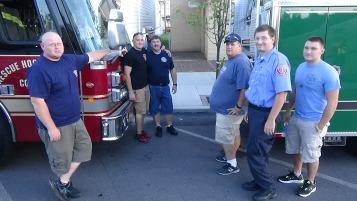 Apparatus Parade during Citz Fest, Citizens Fire Company, Mahanoy City, 8-21-2015 (57)