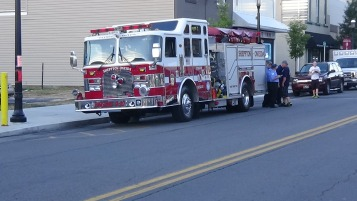 Apparatus Parade during Citz Fest, Citizens Fire Company, Mahanoy City, 8-21-2015 (59)