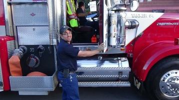 Apparatus Parade during Citz Fest, Citizens Fire Company, Mahanoy City, 8-21-2015 (64)
