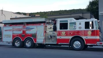 Apparatus Parade during Citz Fest, Citizens Fire Company, Mahanoy City, 8-21-2015 (7)