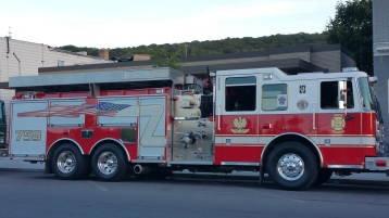 Apparatus Parade during Citz Fest, Citizens Fire Company, Mahanoy City, 8-21-2015 (7)
