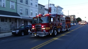 Apparatus Parade during Citz Fest, Citizens Fire Company, Mahanoy City, 8-21-2015 (74)