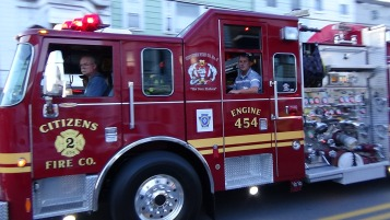 Apparatus Parade during Citz Fest, Citizens Fire Company, Mahanoy City, 8-21-2015 (75)