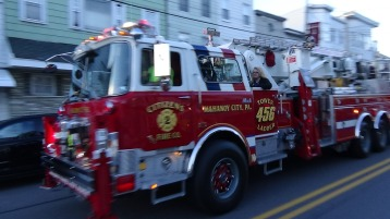 Apparatus Parade during Citz Fest, Citizens Fire Company, Mahanoy City, 8-21-2015 (78)