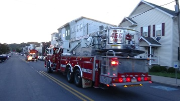 Apparatus Parade during Citz Fest, Citizens Fire Company, Mahanoy City, 8-21-2015 (79)