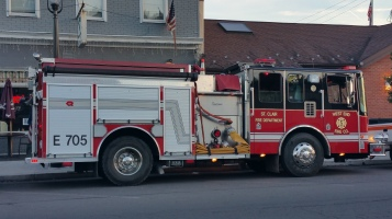 Apparatus Parade during Citz Fest, Citizens Fire Company, Mahanoy City, 8-21-2015 (8)