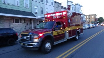 Apparatus Parade during Citz Fest, Citizens Fire Company, Mahanoy City, 8-21-2015 (83)