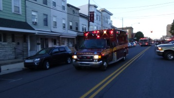 Apparatus Parade during Citz Fest, Citizens Fire Company, Mahanoy City, 8-21-2015 (84)
