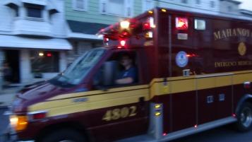 Apparatus Parade during Citz Fest, Citizens Fire Company, Mahanoy City, 8-21-2015 (85)